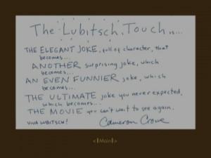 LubitschTouch