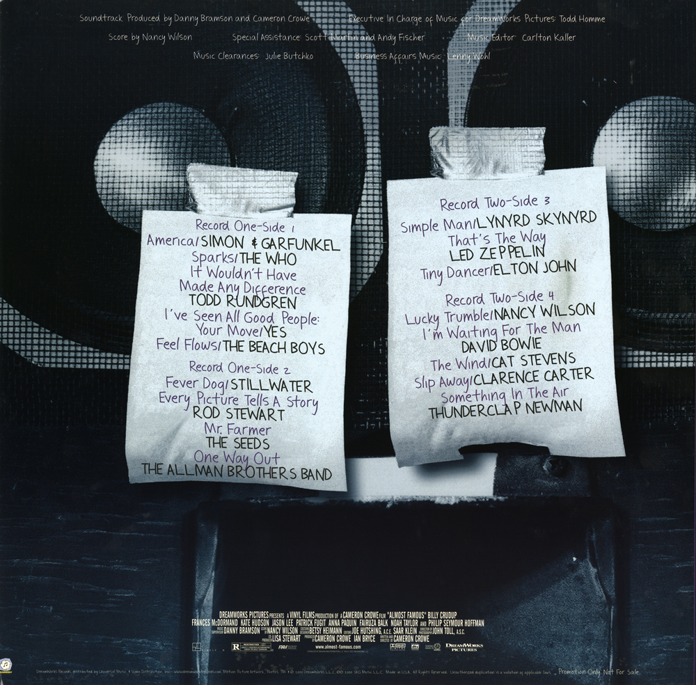 almost famous soundtrack download