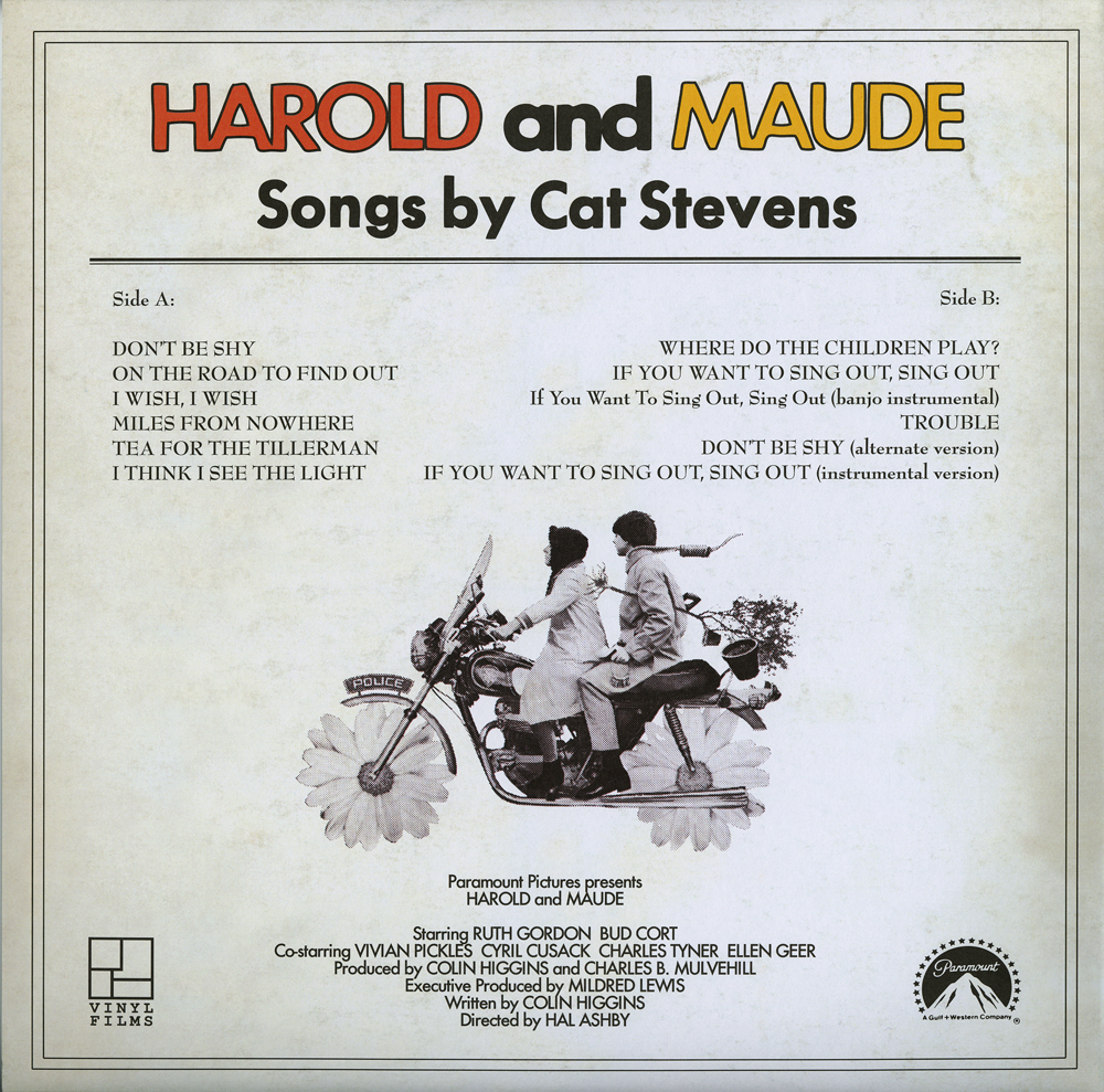 Cat Stevens Harold And Maude If You