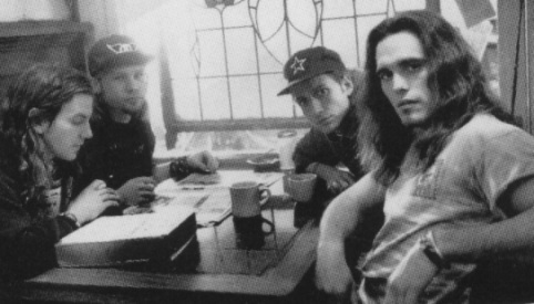"""Pearl Jam makes a cameo with Matt Dillon in the movie """"Singles"""""""