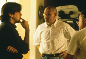On the set of Jerry Maguire