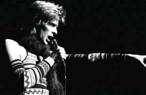 David Bowie. Photo courtesy of Neal Preston.