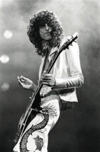 Jimmy Page. Photo courtesy of Neal Preston.