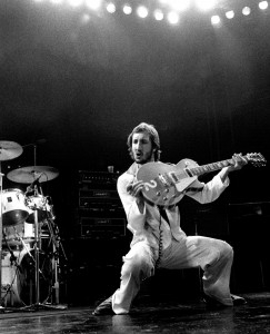 Pete Townshend. Photo courtesy of Neal Preston.