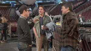 J.J. Abrams, Luke Wilson & Cameron