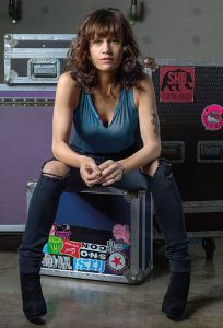 Carla Gugino as Shelli Anderson in Roadies. Photo: Kirk Edwards/SHOWTIME