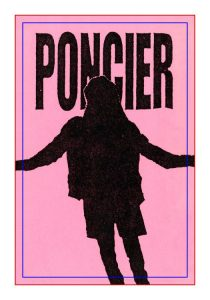 Poncier sticker front