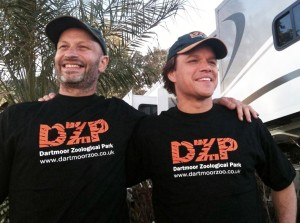 Benjamin Mee and Matt Damon