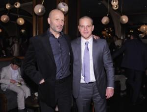Benjamin Mee & Matt Damon (Photo by Michael Loccisano/Getty Images)